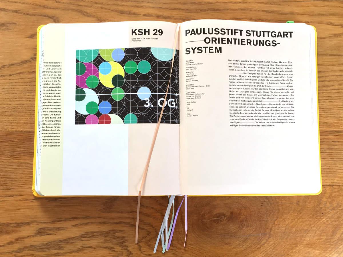 Orientierungssystem Paulusstift Stuttgart