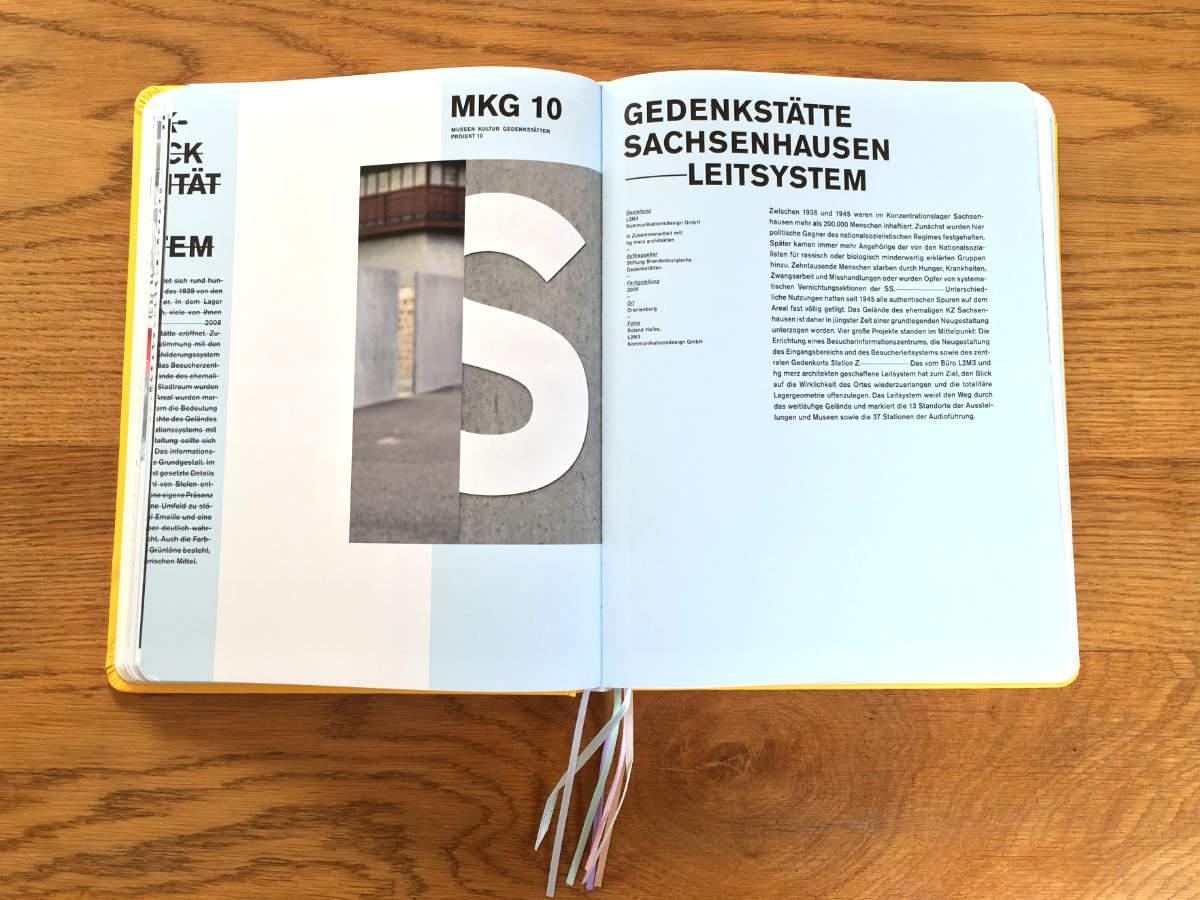 Leitsystem Gedenkstätte Sachsenhausen